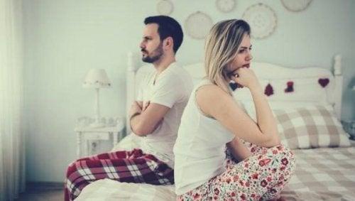 Vier Arten von Beziehungskrisen