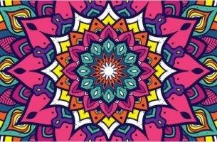 Vorteile von Mandalas - ein farbenfrohes Mandala