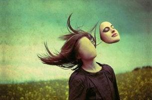 Psychische Störungen - Frau ohne Gesicht