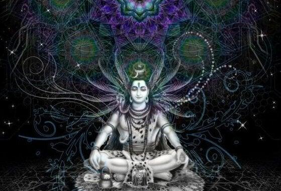 Hinduistische Sprichwörter auf Deutsch haben nicht mit einer bestimmten Gottheit zu tun