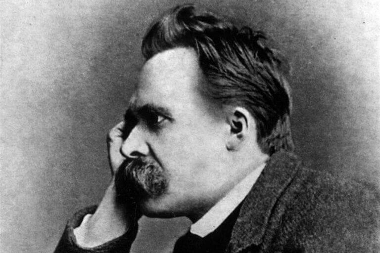 Nietzsche in Schwarz-Weiß
