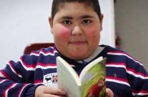 Rubén Darío Ávalos ist der Junge, der uns zeigte, dass das Lesen Medizin ist
