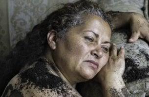 Eine der Mütter von Soacha