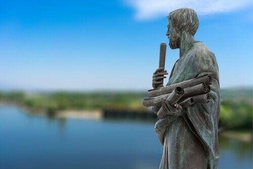 Statue von Aristoteles