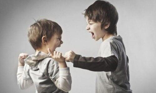 Streitende Brüder