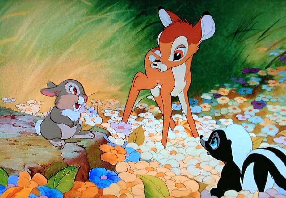 Szene aus Bambi
