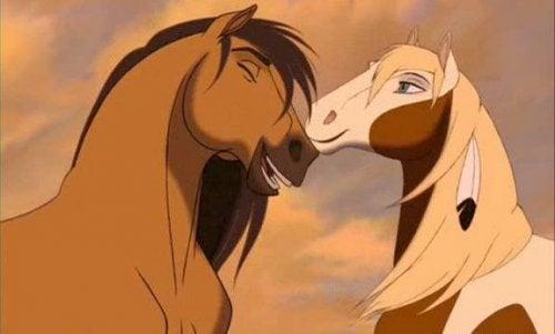 Szene aus Spirit - Der wilde Mustang