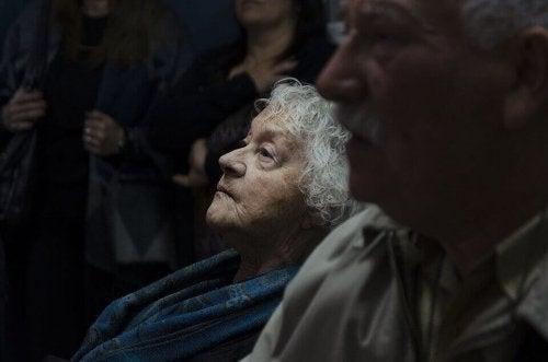 Ältere Frau