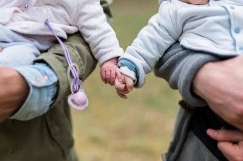 Kleinkinder als Freunde
