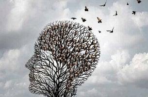 REVT - Baum in Kopfform mit Vögeln