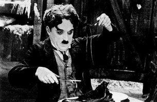 Ein Bild von Charlie Chaplin.
