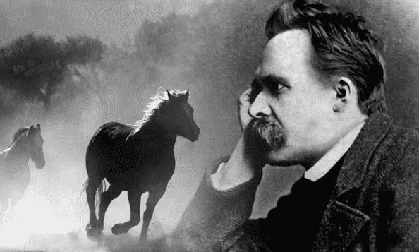 Nietzsche und Pferd