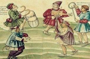 Der Kreis der 99 - ein mittelalterliches Gemälde