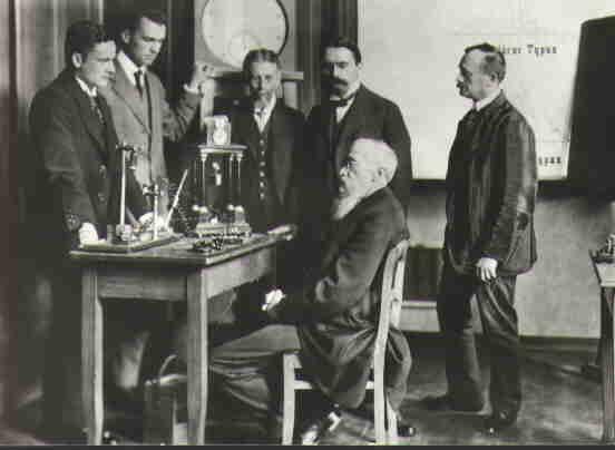 Berühmte Psychologen um Wundt