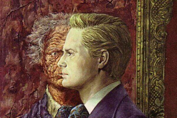 Mann mit zwei Gesichtern