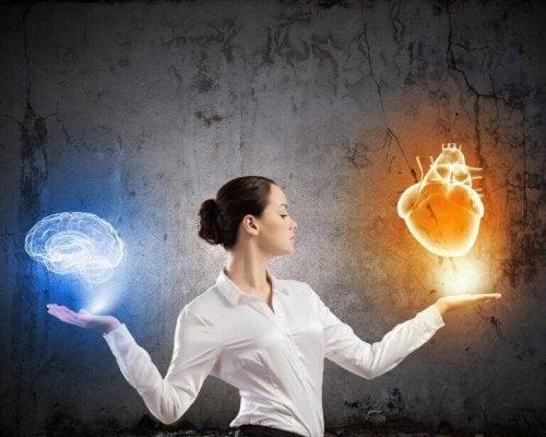 Emotionale Intelligenz als Symbol dafür, wie intelligente Personen mit toxischen Personen umgehen