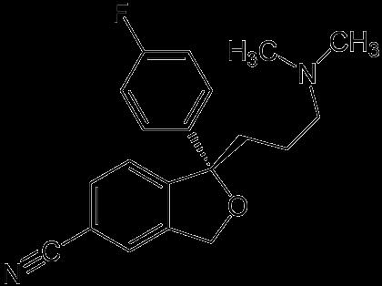 Formel von Escitalopram