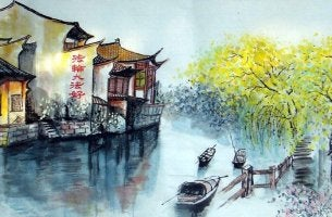 Fluss in China