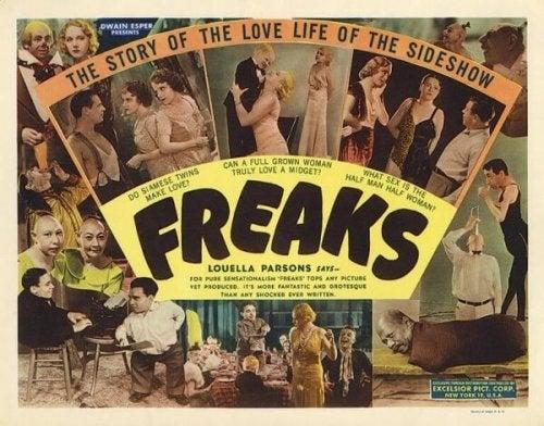 """Filmplakat von """"Freaks"""""""