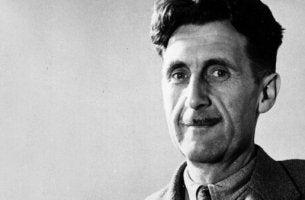 Porträt von George Orwell.