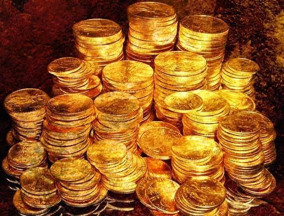 99 Goldmünzen
