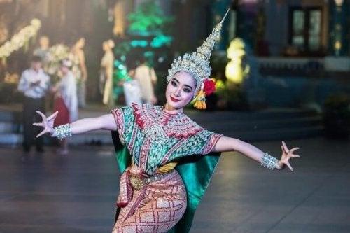 Eine indische Tänzerin