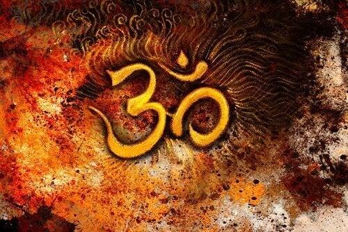 Das Mantra Om.