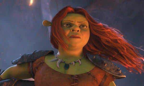 Prinzessin Fiona ist ihre eigene Heldin