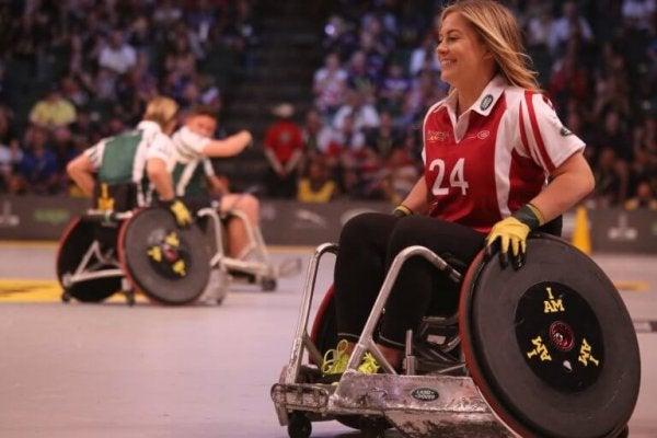 Behindertensport im Rollstuhl