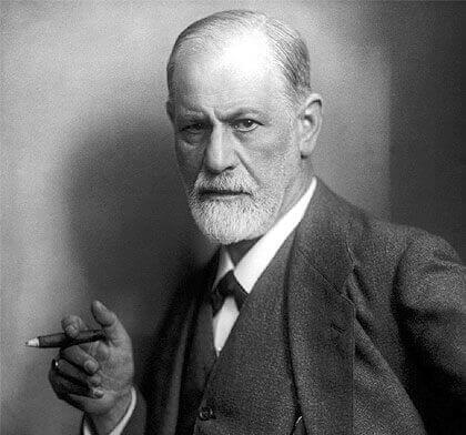 Der Erstbeschreiber von Es, Ich und Über-Ich, Sigmund Freud