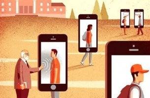 Gefahren der sozialen Medien - reale Menschen und deren virtuelle Profile