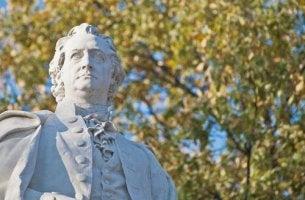 Statue von Goethe