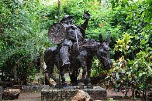 Statue von Sancho Panza