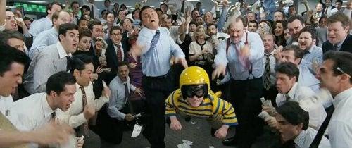 "Szene aus ""The Wolf of Wall Street"""
