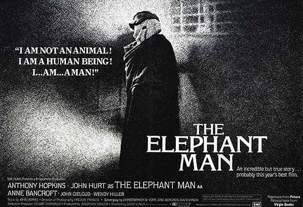 Poster vom englischen Original THE ELEPHANT MAN
