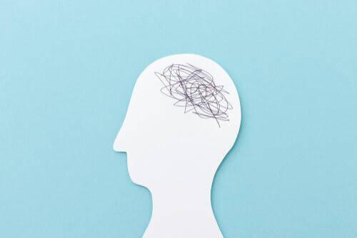 Profil eines unruhigen Kopfes