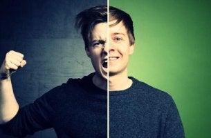 Luzifer-Effekt - ein junger Mann und seine zwei Seiten, das Böse und das Gute
