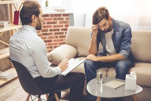 Psychologe und Klient