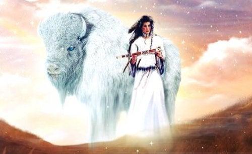 Die Weißer-Büffel-Frau: Eine Legende der Lakota