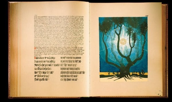 """Das """"Rote Buch"""" von Carl Gustav Jung"""