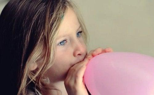 Ballontechnik: Kindern helfen, sich zu beruhigen