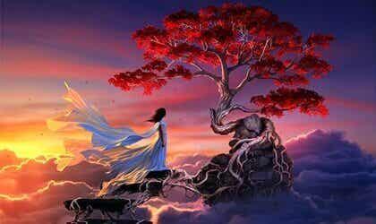 Sakura, eine japanische Legende über die wahre Liebe