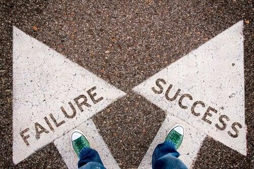 Scheideweg zwischen Niederlage und Erfolg