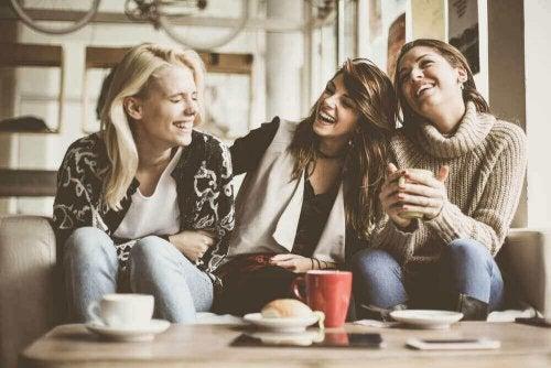 Spaß unter Freundinnen