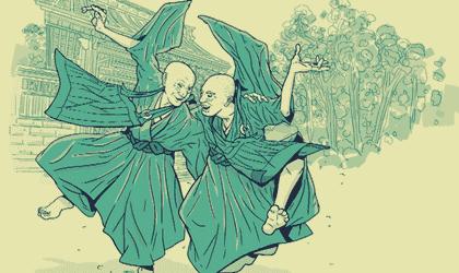 Wie wir laut dem Zen-Buddhismus einen Feind in die Knie zwingen