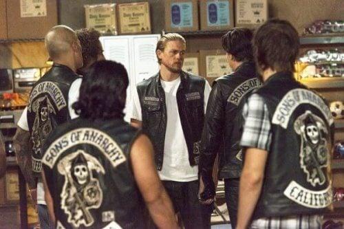 "Szene aus ""Sons of Anarchy"""