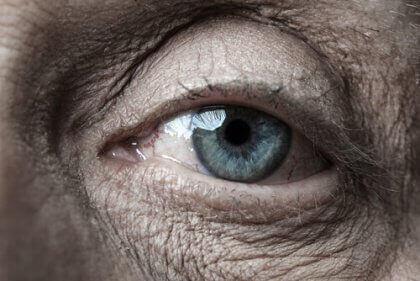 Alte Augen haben viel gesehen.