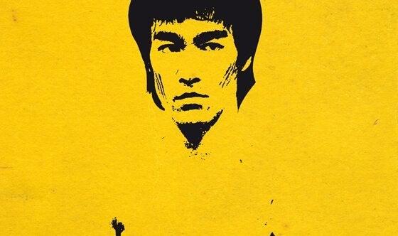 Schematische Darstellung von Bruce Lee