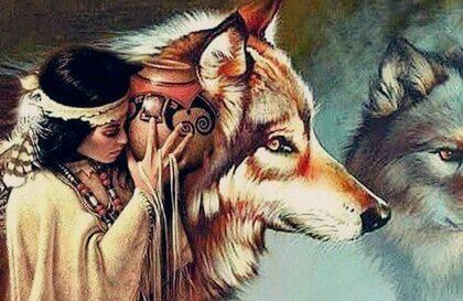 Die Frau und die Wölfe - eine schöne Dakota-Legende