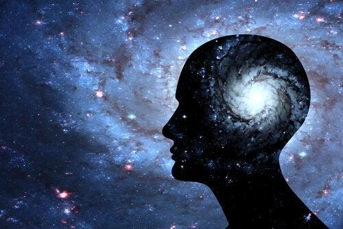 Das Gehirn einer erleuchteten Person als Milchstraße